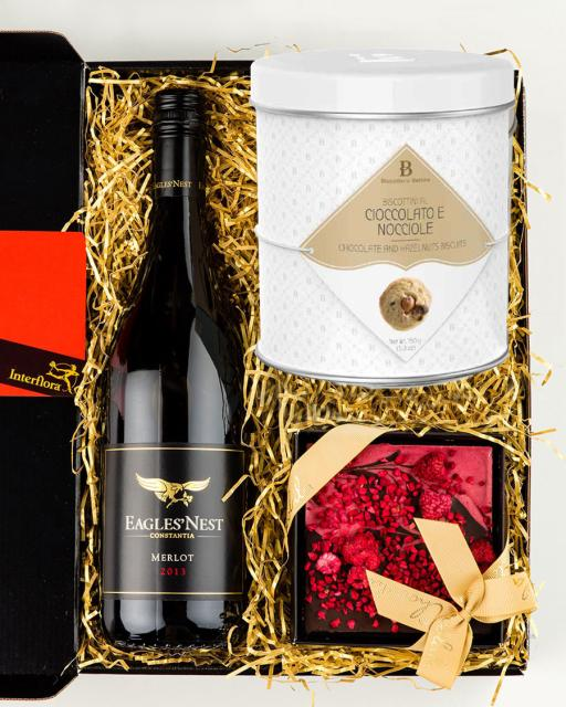Eagle´s Nest Merlot punane vein, vaarika ja tumeda šokolaadi tahvel, gurmeeküpsised