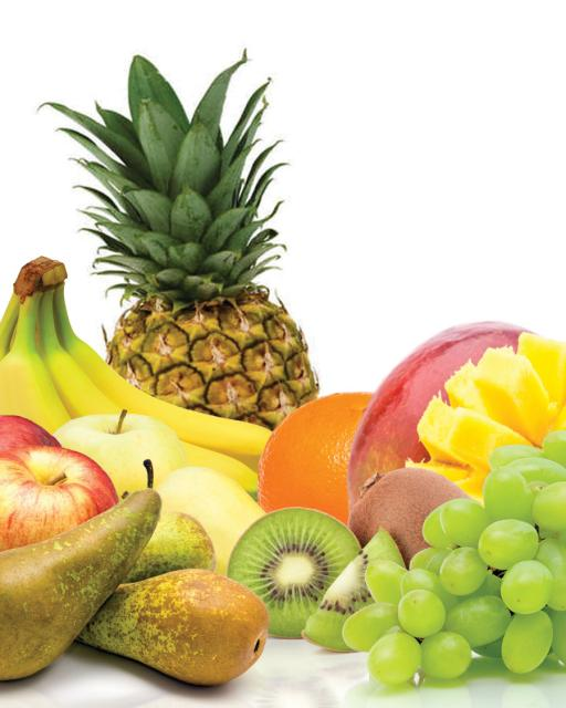 Органические фрукты в подарочной коробке