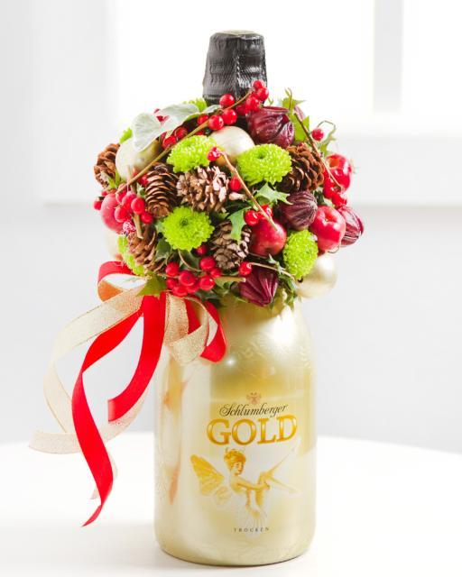 (Detsember-Jaanuar) Vahuvein jõuluteemalise lilleseadega