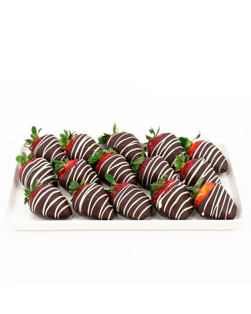 Tume Choco Chanel – maasikad tumedas šokolaadis