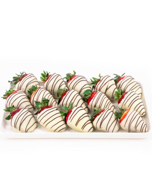 Hele Choco Chanel – maasikad heledas šokolaadis