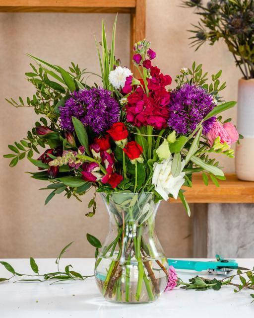 Lillepillerpall – floristi fantaasia