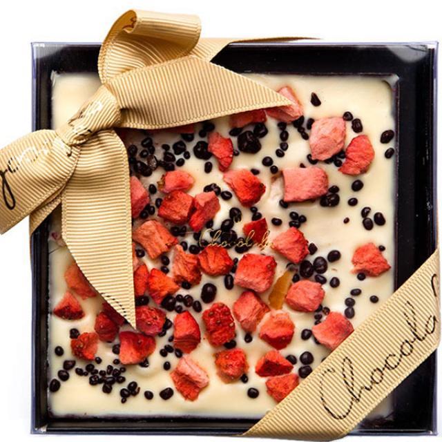 Šampanja-maasika tahvel