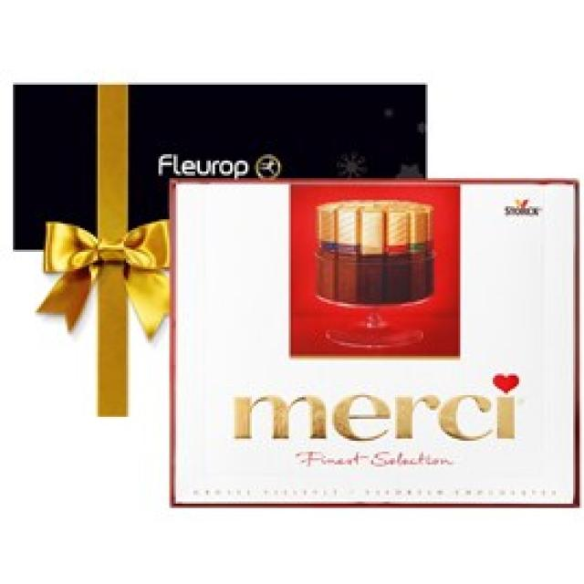 Fleurop Merci. Only to order in combination with flowers